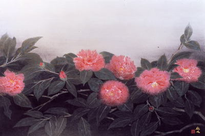 山本丘人「寒の花」1972年.jpgのサムネール画像